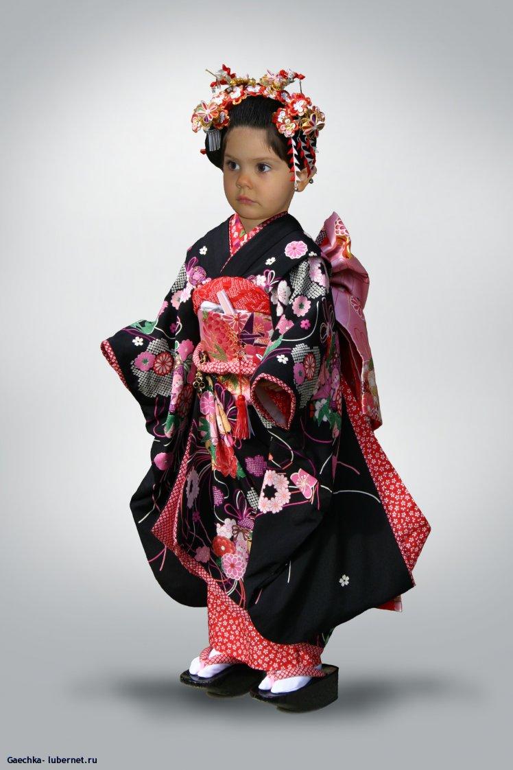 Костюм для photoshop девочка в кимоно
