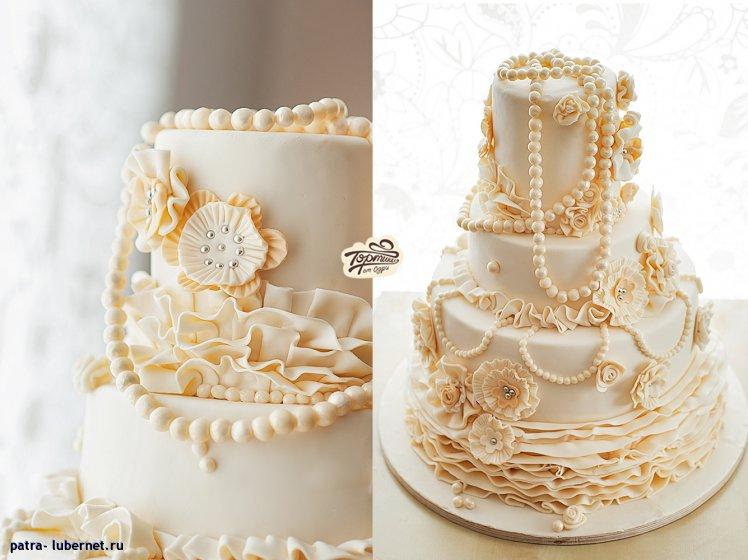 Комментарий торт жемчужная свадьба