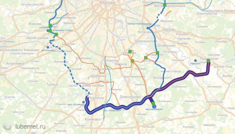 Фотография: карта Проект легкорельсового трамвая, пользователя: artёmka