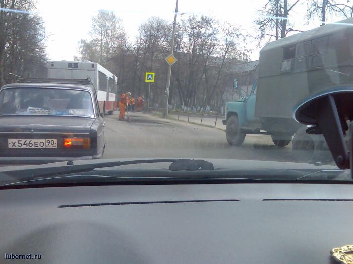 Фотография: Ремонт дороги на ул.Космонавтов, пользователя: Mikhail