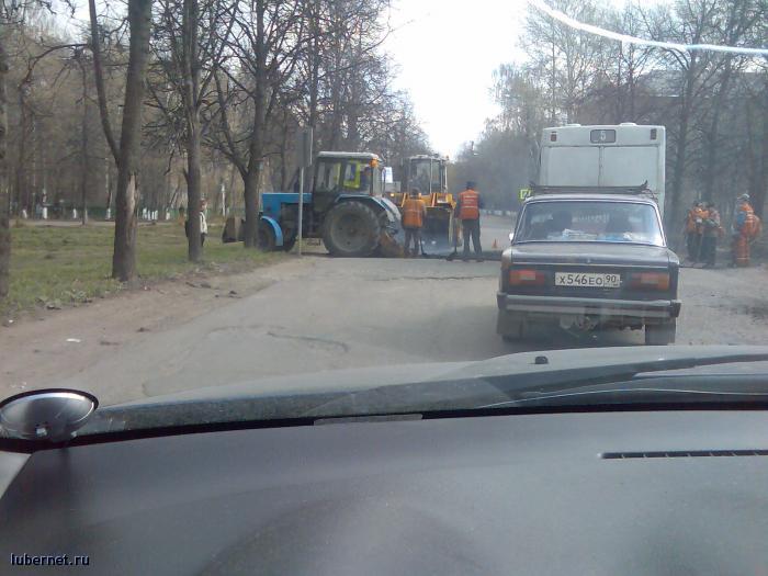 Фотография: Ремонт дороги на ул.Космонавтов., пользователя: Mikhail