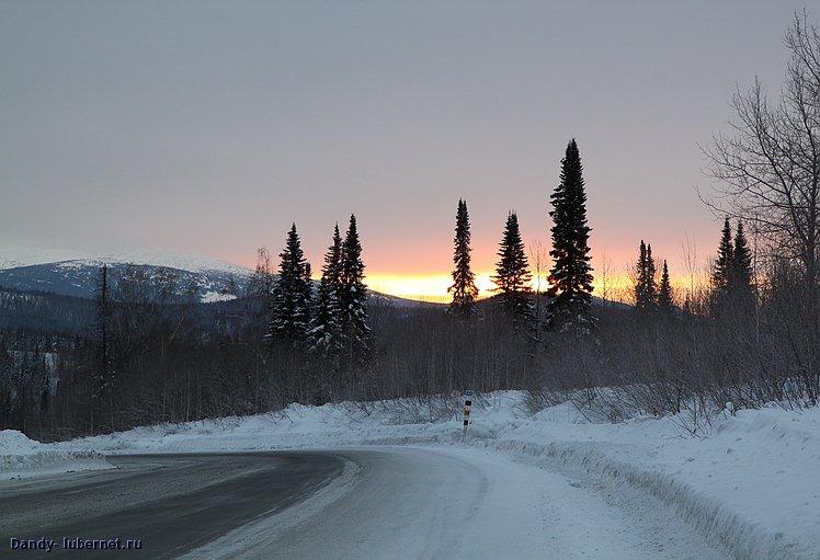 Фотография: Кемеровская область, солнце всходит.., пользователя: Dandy