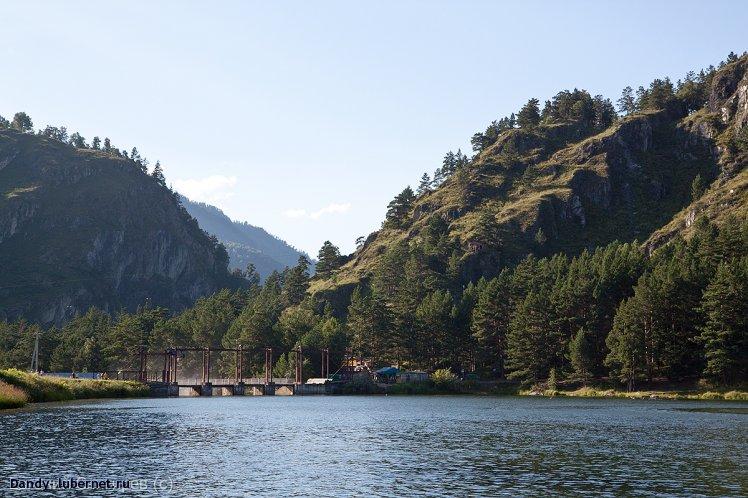 Фотография: ГЭС на р.Чемал, пользователя: Dandy