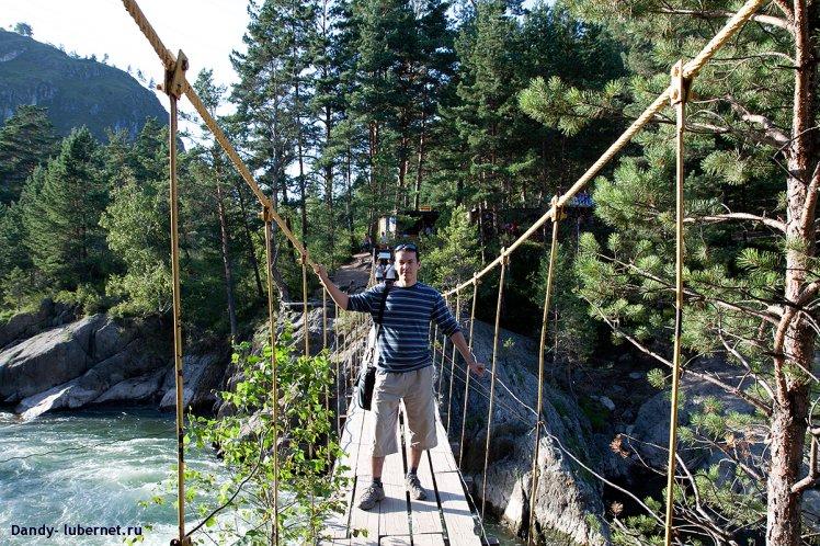 Фотография: Мост через р.Чемал, пользователя: Dandy