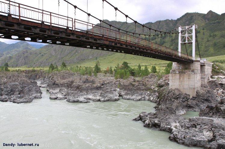 Фотография: Мост через р.Катунь, пользователя: Dandy