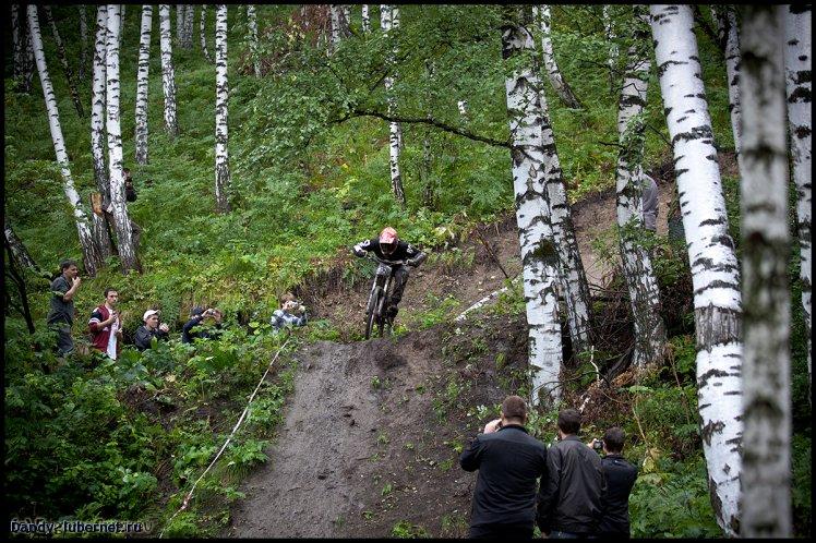 Фотография: Чемпионат Кузбасса по даунхилу 2010, пользователя: Dandy