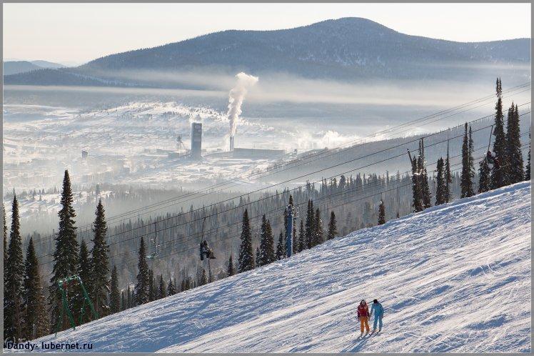 Фотография: пос.Шерегеш, гора Зелёная, пользователя: Dandy