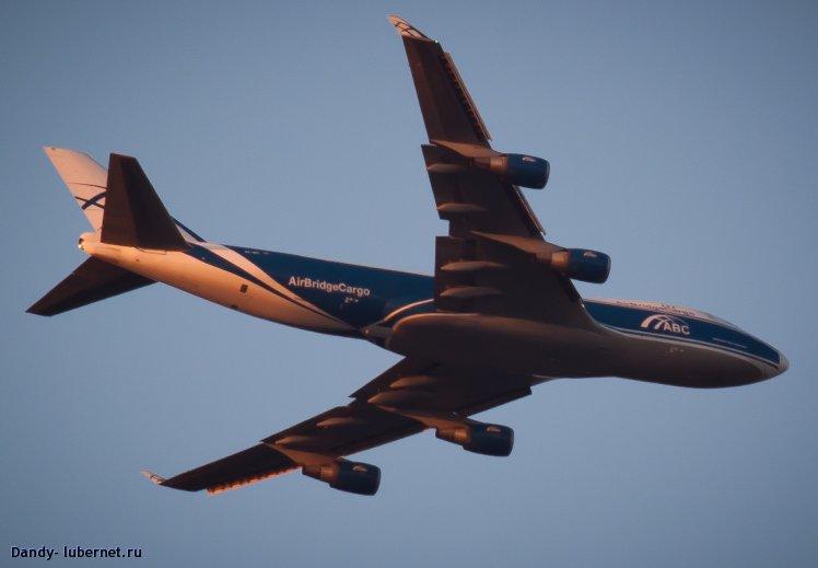 Фотография: боинг 747 грузовой, пользователя: Dandy