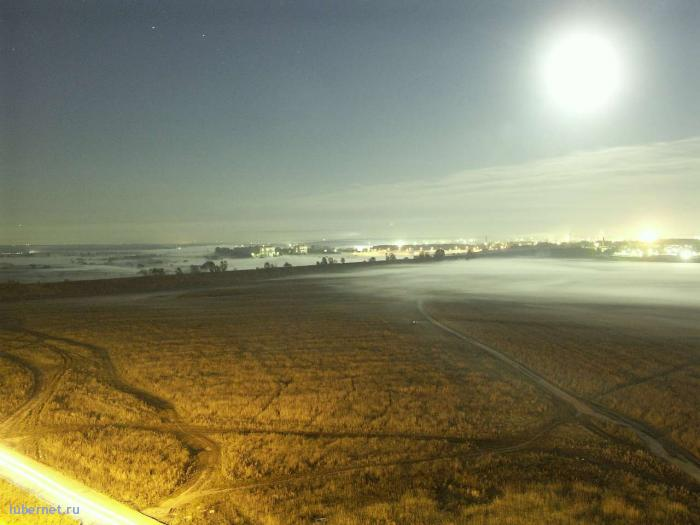 Фотография: ночь. поле. улица. коллектор, пользователя: satirus_I