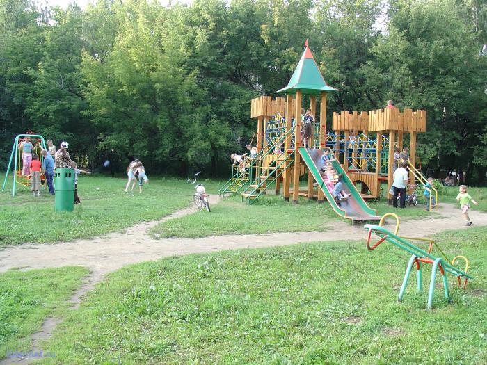 Фотография: Новая детская площадка, пользователя: Священник Александр