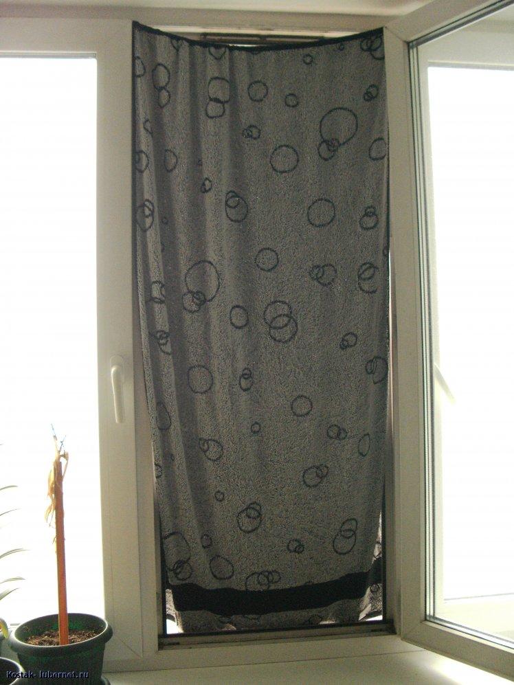 Фотография: Мокрые занавески помогают., пользователя: Kostak
