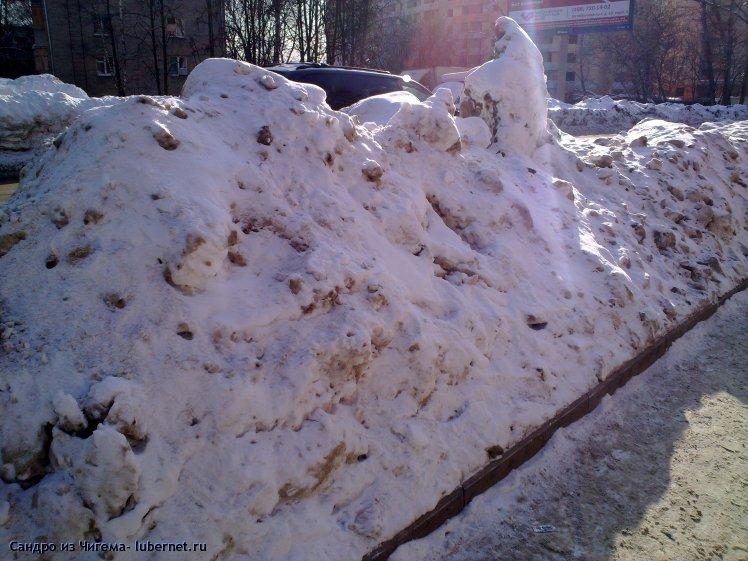 Фотография: Снежные валы на улицах Люберец фото 1.jpg, пользователя: В@cильичЪ