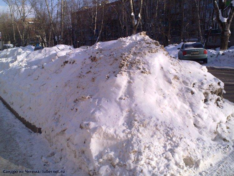 Фотография: Снежные валы на улицах Люберец фото 3.jpg, пользователя: В@сильичЪ