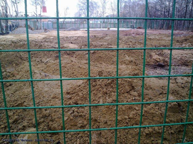 Фотография: Работы по сооружению спортивной площадки в Наташинском парке (фото 3).jpg, пользователя: В@сильичЪ