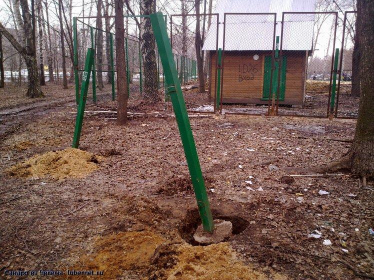 Фотография: Работы по сооружению спортивной площадки в Наташинском парке (фото 1).jpg, пользователя: В@cильичЪ