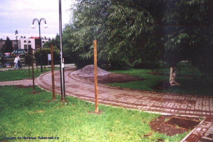 Фотография: Столбы для организации входа в парк.jpg, пользователя: В@cильичЪ