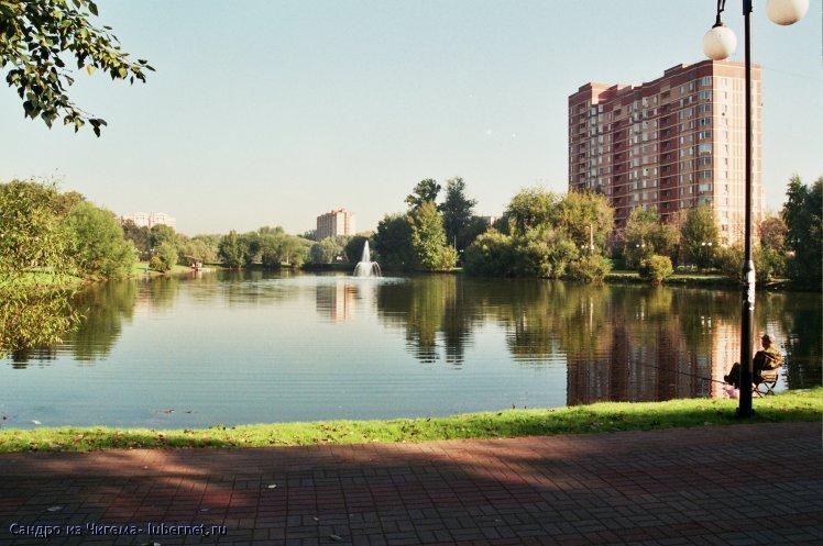 Фотография: Фонтан в нижнем Наташинском пруду.jpg, пользователя: В@cильичЪ