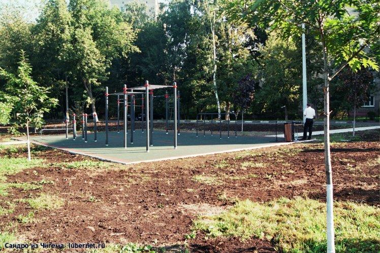 Фотография: Новая спортплощадка.jpg, пользователя: Сандро из Чигема