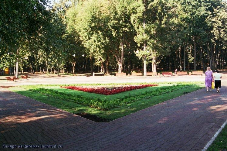 Фотография: площадь с клумбой между прудами.jpg, пользователя: В@cильичЪ