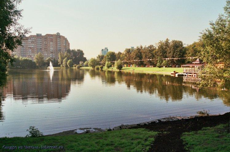 Фотография: Нижний пруд.jpg, пользователя: Сандро из Чигема