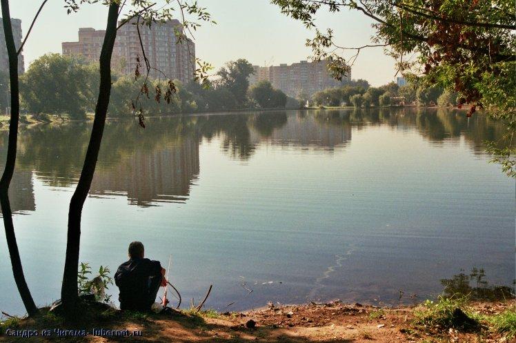 Фотография: Рыбак на верхнем пруду.jpg, пользователя: В@cильичЪ