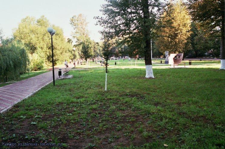 Фотография: Сквер у пруда ул. Шевлякова.jpg, пользователя: В@cильичЪ