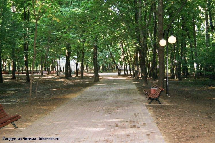 Фотография: Аллея вдоль западной стороны парка.jpg, пользователя: В@cильичЪ
