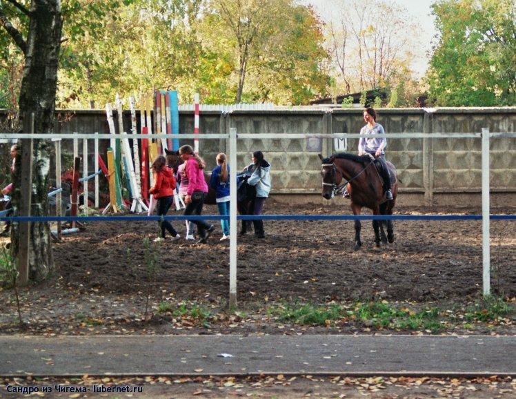 Фотография: Дети на площадке для лошадей.jpg, пользователя: В@cильичЪ