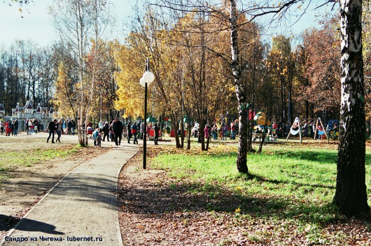 Фотография: Детские площадки пользуются популярностью.jpg, пользователя: Сандро из Чигема