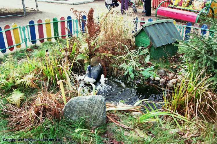 Фотография: Уголок природы с фонтанчиком.jpg, пользователя: Сандро из Чигема