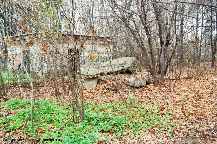 Фотография: Строительный мусор на территории березовой рощи.jpg, пользователя: В@cильичЪ
