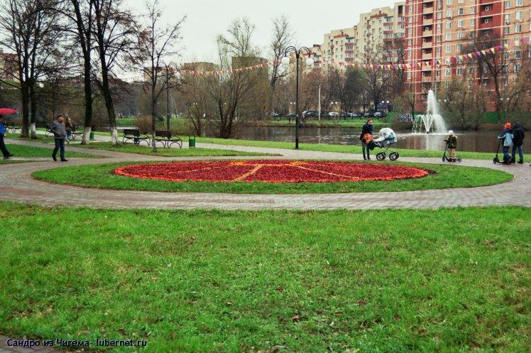 Фотография: Осеннее убранство клумбы.jpg, пользователя: Сандро из Чигема
