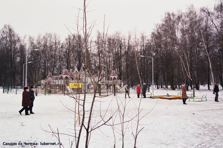 Фотография: Детская крепость в январе.jpg, пользователя: Иван Васильевич