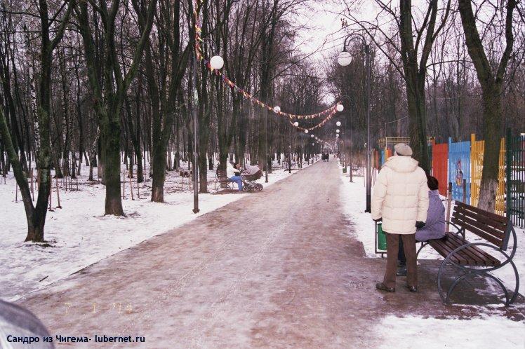 Фотография: Малоснежная Рождественская аллея.jpg, пользователя: Сандро из Чигема