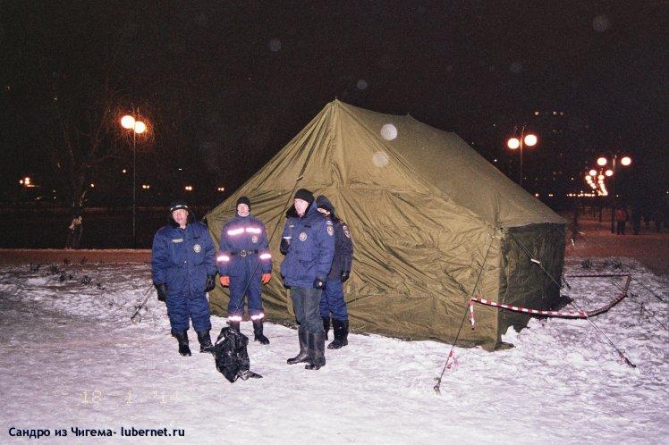 Фотография: Палатка для обогрева после водных процедур и спасатели.jpg, пользователя: В@cильичЪ