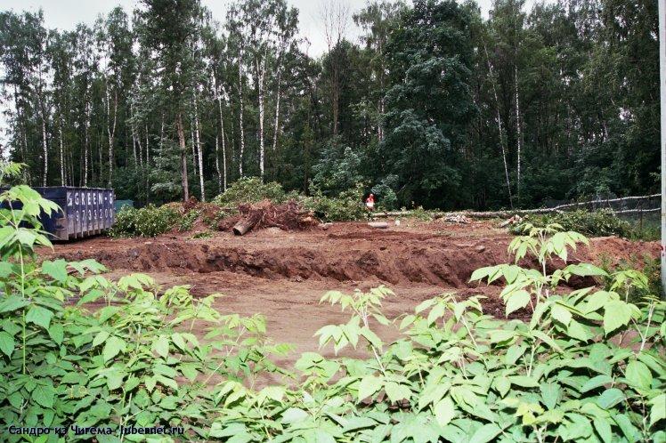 Фотография: Строительство ФОКа привело к вырубке десятков деревьев в Наташинском парке.jpg, пользователя: В@cильичЪ