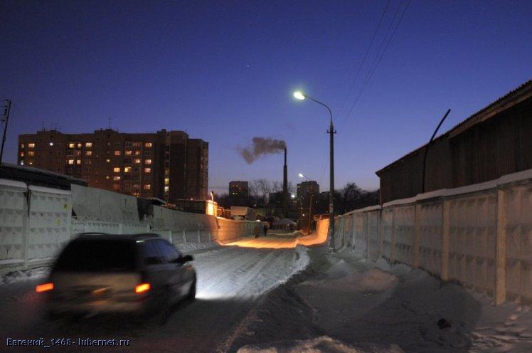 Фотография: Зимняя ночь .JPG, пользователя: Евгений_1468