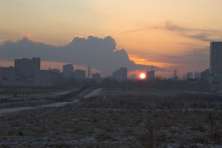 Фотография: Первый-закат-2008, пользователя: Евгений_1468
