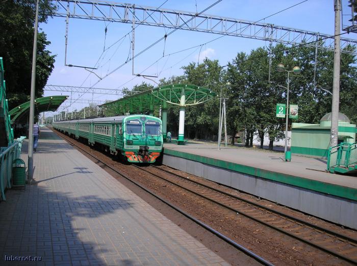 Фотография: Платформа Ухтомская и ЭД4М - 0071, пользователя: Hen