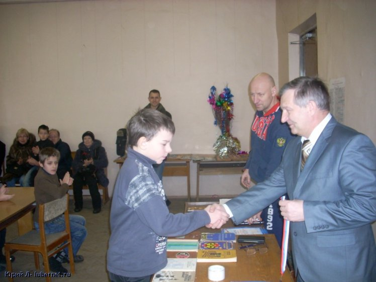 Фотография: Медаль за третье место вручается Шошину Борису.JPG, пользователя: Юрий Л