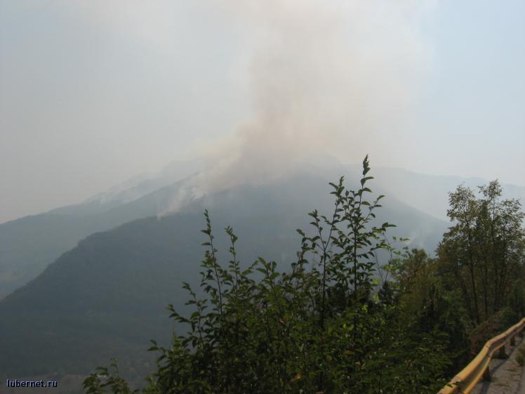 Фотография: Горы горят в Черногории, пользователя: ЮЖная