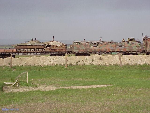 Фотография: бронепоезд Чечня, пользователя: Александр_1822