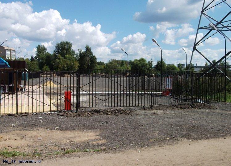 Фотография: новая стоянка для фур на Новорязанке 1, пользователя: Nd_18