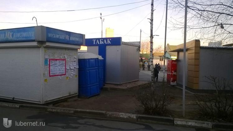 Фотография: захламлённый проход к автобусам, ул. Волковская, атостанция, пользователя: Nd_18