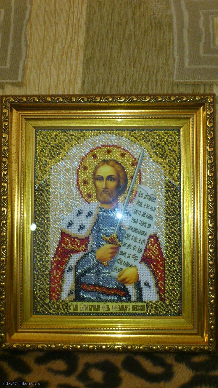 Фотография: Икона святого Александра Невского, пользователя: ahka.87