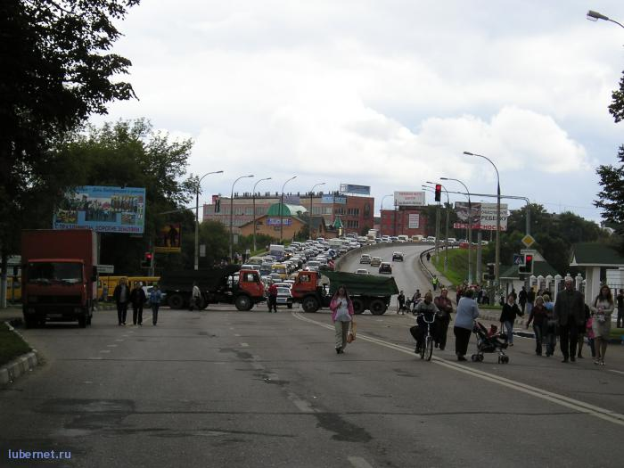 Фотография: А Люберцы тем временем стояли в гигантской пробке..., пользователя: rindex