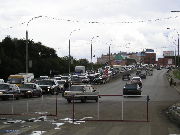 Фотография: Люберецкая пробка на День района, пользователя: rindex