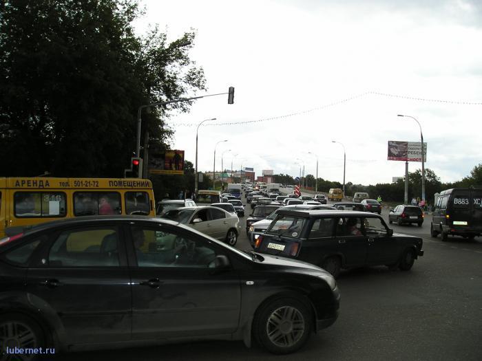 Фотография: Люберецкая пробка на День района2, пользователя: rindex