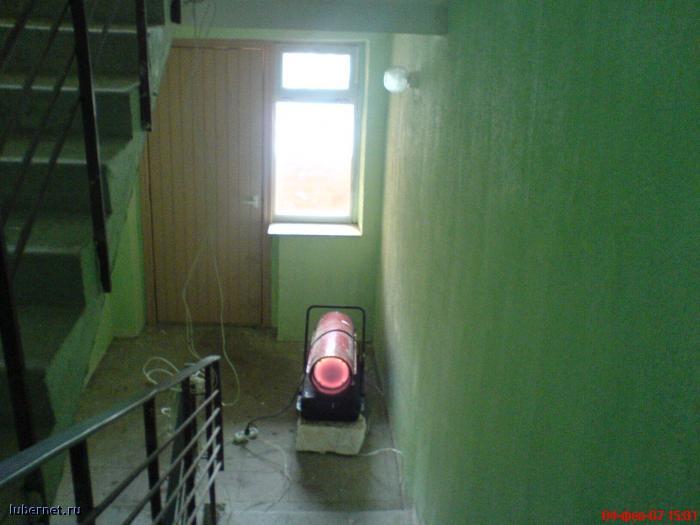 Фотография: тепловая пушка в подъезде, пользователя: rindex