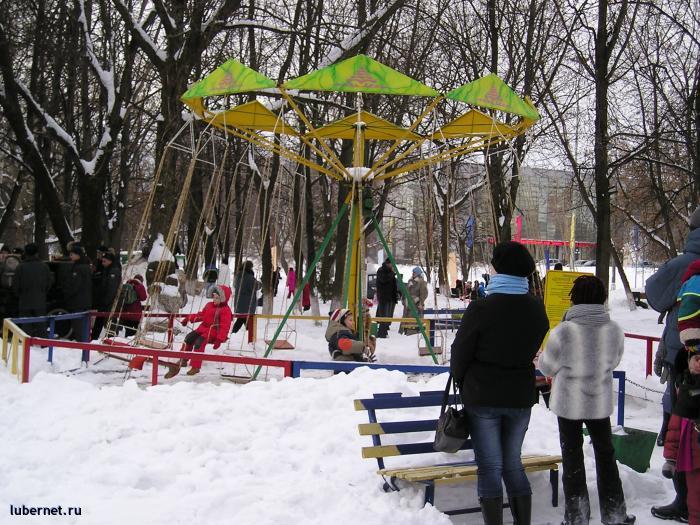 Фотография: аттракционы зимой, пользователя: rindex